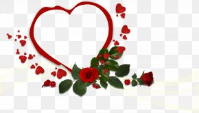 Flower - Flower Heart Valentine's Day PNG