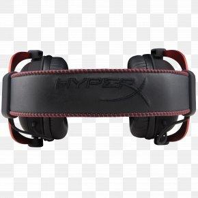 HyperX Gaming Headset - Kingston HyperX Cloud II Headset Personal Computer Video Games PNG