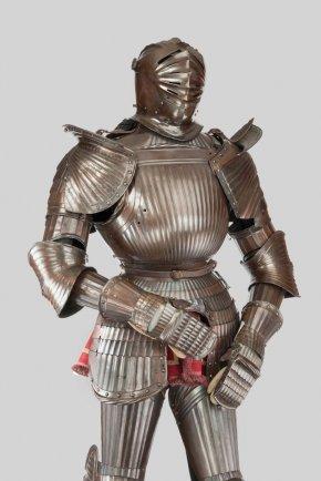 Armour - Maximilian Armour Knight Cuirass Plate Armour PNG
