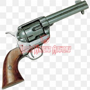 Weapon - Revolver Colt Single Action Army .45 Colt Colt's Manufacturing Company Firearm PNG