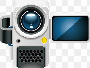 Hand-painted Camera - TeamViewer Video Camera Videocassette Recorder Remote Desktop Software PNG