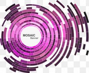 Cool Science & Creativity Aperture - Purple Aperture Graphic Design PNG