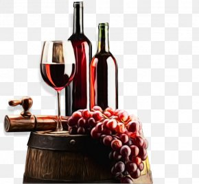 Vitis Distilled Beverage - Grape Cartoon PNG
