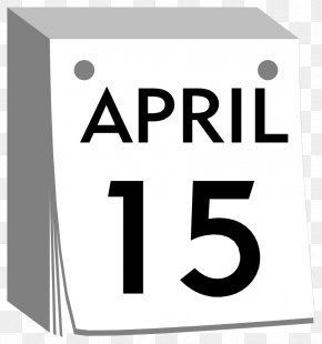 Monday Calendar Cliparts - Leap Week Calendar April ISO Week Date Clip Art PNG