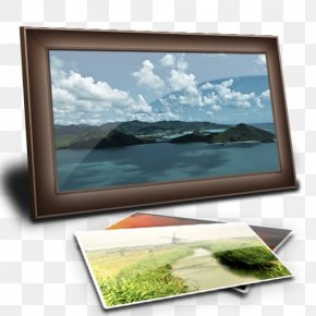 Pictures - Picture Frame Computer Monitor Flat Panel Display Display Device PNG