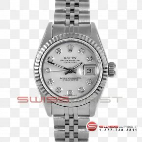 Watch - Rolex Datejust Watch Love Bracelet Diamond PNG
