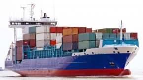 Shipping - Cargo Ship Clip Art PNG