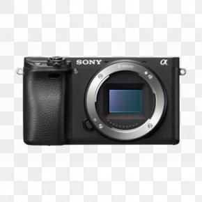 Sony Alpha Dslr Camera - Mirrorless Interchangeable-lens Camera Sony Alpha 6300 Sony α7 II Sony ILCE Camera APS-C PNG