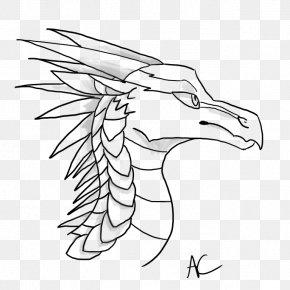 Nightwing Dragon Rainwing - Wings Of Fire Drawing Line Art DeviantArt PNG