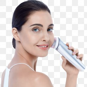 Face Skin Care - Cleanser Skin Brush Face Cleaning PNG