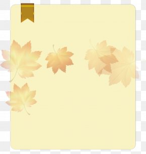 Document Text Maple Leaf Background Material - Document File Format Text File Download PNG