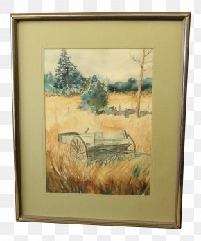 Watercolor Painting Landscape - Watercolor Painting Still Life Picture Frames Modern Art PNG