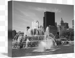 Skyline Chicago - Black And White Photography Fine Art Skyline PNG