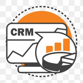 Crm Icon - Sales Customer Relationship Management Big Data Clip Art PNG