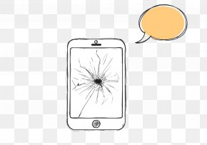 The Smartphone Screen Is Broken - Designer Smartphone PNG