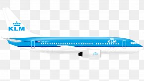 Plane Image - Airplane Boeing 767 Flight Aircraft KLM PNG