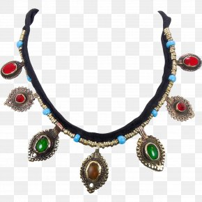 Necklace - Necklace Jewellery Earring Silver Turquoise PNG