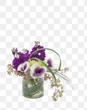 Purple Flower Vase Floral Ornaments - The Flower Bucket Floristry Flower Delivery Floral Design PNG