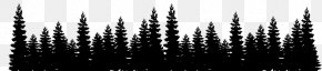 Forest - Pine Forest Tree Color Clip Art PNG