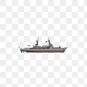 Model - Scale Model Warship Pattern PNG