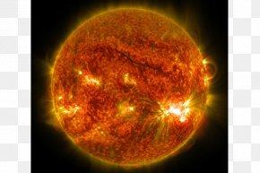 Sun - Solar Flare Sunspot Solar Dynamics Observatory Star PNG