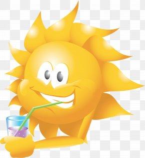 Sun Vector - Juice Fizzy Drinks Drinking Sunshine Flea Market PNG