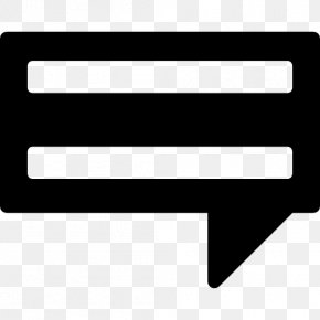 Speech Balloon Text Rectangle PNG