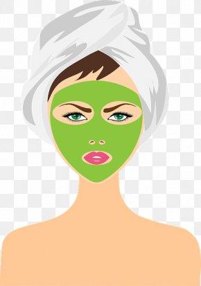Mother Spa Facial - Clip Art Vector Graphics Beauty Parlour Cosmetics PNG