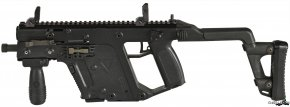 Machine Gun - KRISS Vector Submachine Gun .45 ACP Weapon PNG