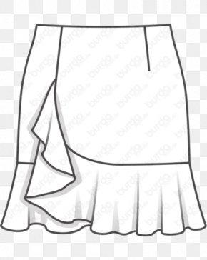 Dress - Dress Skirt Drawing Fashion Illustration Pattern PNG