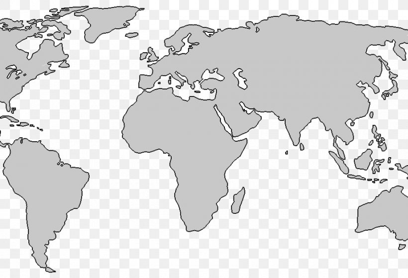 Blank Map Of Earth World Map The World: Maps Blank Map, PNG, 920x628px, World, Area