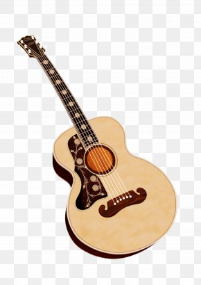 Attractive Guitar Pull Material Free - Acoustic Guitar Ukulele Tiple Cuatro PNG
