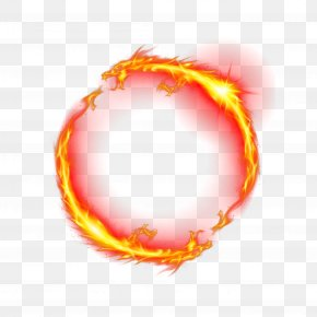 Leading Ring Of Fire - Fire Light T-shirt Ring PNG