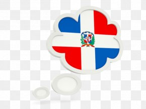Flag - Flag Of The Dominican Republic Logo Text PNG