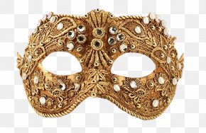 Golden Mask - Mask Carnival Masquerade Ball PNG