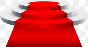 Vector Red Carpet Stage - Light Red Carpet Stage PNG