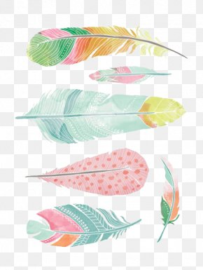 Feather - Feather Watercolor Painting Drawing PNG