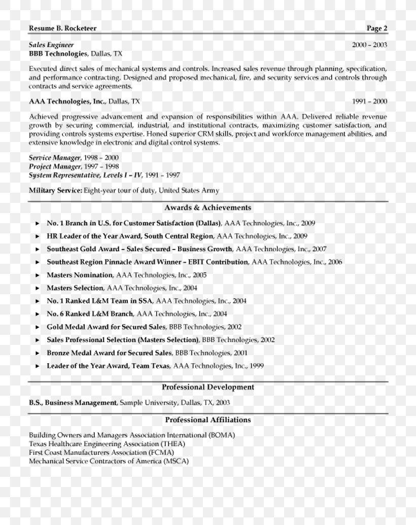 Résumé Cover Letter Sales Management Template, PNG ...