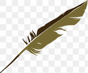 Feather Vector Element - Feather Bird Euclidean Vector PNG