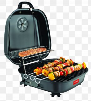 Electric Tandoor Barbeque Grill - Barbecue Chicken Sausage Grilling Kebab PNG