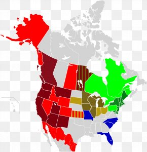 United States - United States Canada Map American Civil War Louisiana Purchase PNG