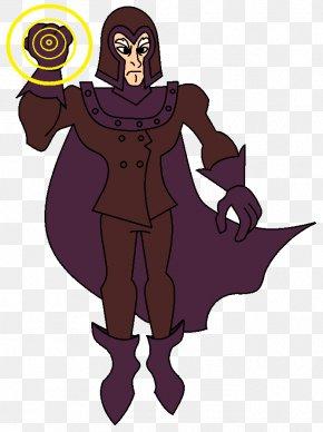 Magneto - Fiction Cartoon Purple Violet PNG
