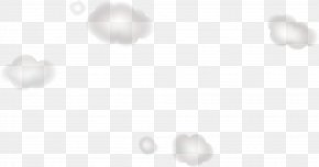White Floating Clouds - White Circle Angle Pattern PNG