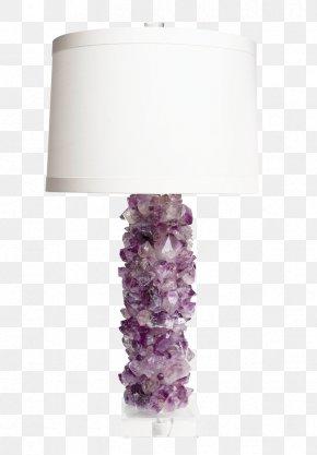 Amethyst - Light Fixture Lighting Lamp Electric Light PNG