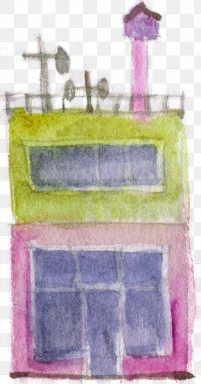 Castle - Paint Rectangle Pattern PNG