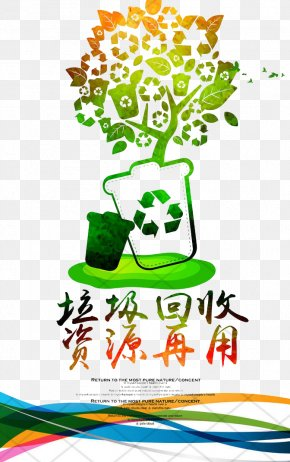 Recycle Garbage - Recycling Poster Waste Environmental Protection PNG