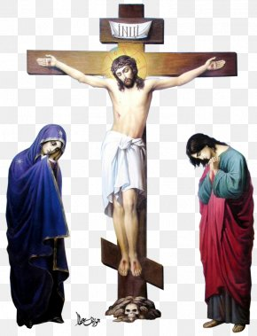 Christian Cross - Christian Cross Crucifixion Resurrection Of Jesus Clip Art PNG