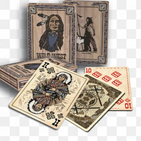 Indian Warrior - Playing Card Game Homo Sapiens Back To Wild West Mississippi PNG