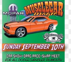Muscle Car - Classic Car Compact Car Motor Vehicle Automotive Design PNG