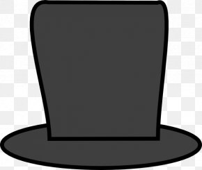 Abraham Cliparts - Top Hat Outline Of Abraham Lincoln Clip Art PNG